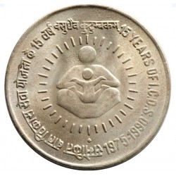 1 Rupee-15 Years of I.C.D.S...