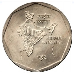 2 Rupees- National...