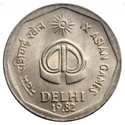2 Rupees IX Asian Games...