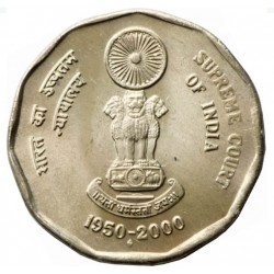 2 Rupees Supreme Court of...