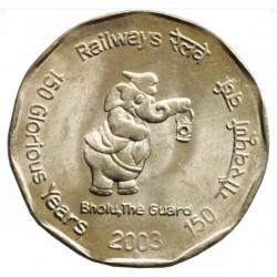 2 Rupees Railway 150...