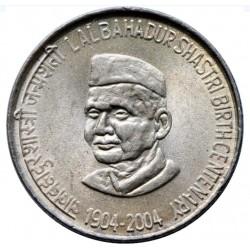 5 Rupees Lal Bahadur...