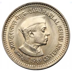 5 Rupee Jawahar Lal Nehru...