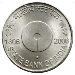 5 Rupees State Bank of...
