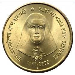 5 Rupees Saint Alphonsa...