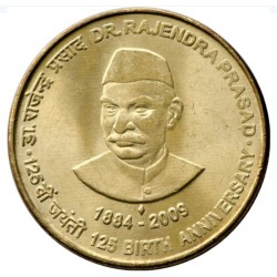 5 Rupees 125th Birth of Dr....