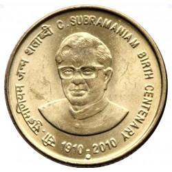 5 Rupees C Subramaniam...