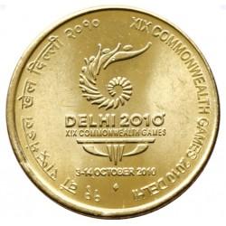 5 Rupees XIX Commonwealth...