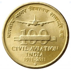 5 Rupees 100 Years of Civil...