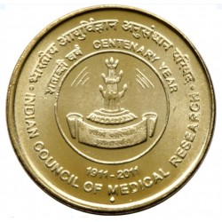 5 Rupees Indian Council of...