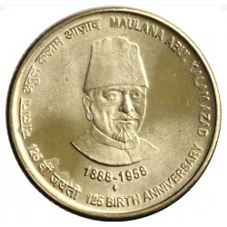5 Rupees 125th Anniversary...