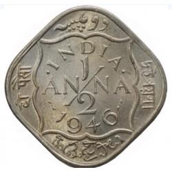 George VI- 1/2 Anna 1946 in...