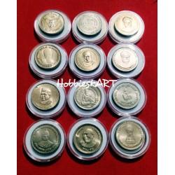 5 Rupees Commemorative set...