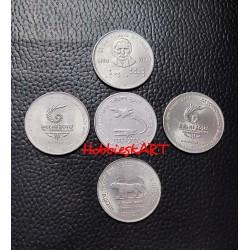 2 Rupees Gem Unc 5...