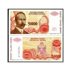 SERBIA 50000 DINARA CRISP...