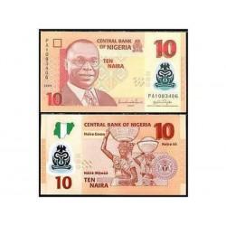 NIGERIA 10 NAIRA POLYMER...