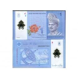 MALAYSIA 1 RINGGIT CRISP...