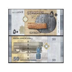 SYRIA 50 POUNDS CRISP...