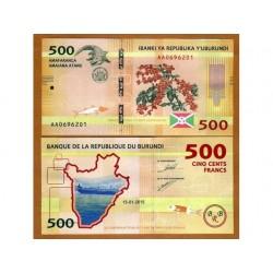 BURUNDI 500 FRANCS CRISP...