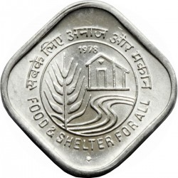 "5 Paise ""Food & Shelter for..."