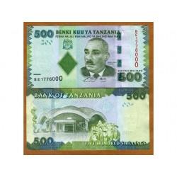 TANZANIA 500 SHILLINGS...