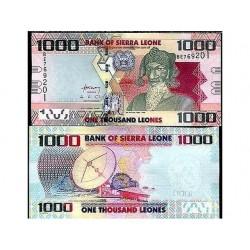 SIERRA LEONE 1000 LEONES...