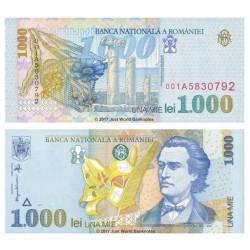 ROMANIA 1000 LEI 1998 CRISP...