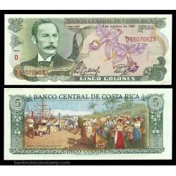 COSTA RICA 5 COLONES CRISP...