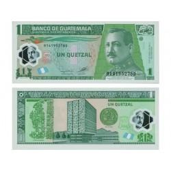 GUATEMALA 1 QUETZALE CRISP...