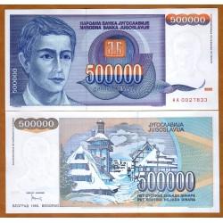 YUGOSLAVIA 500000 DINARA...