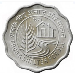 """10 Paise """"Food and Shelter..."""