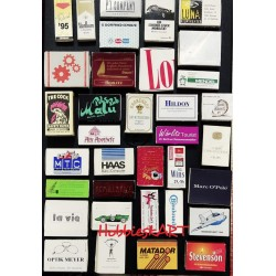 35 Rare World Matchboxes...